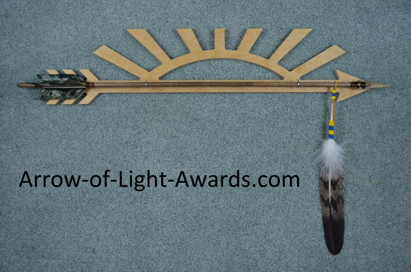 Arrow of light Award arrows and plaques